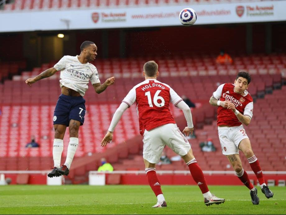 Raheem Sterling scores the game's only goalGetty Images