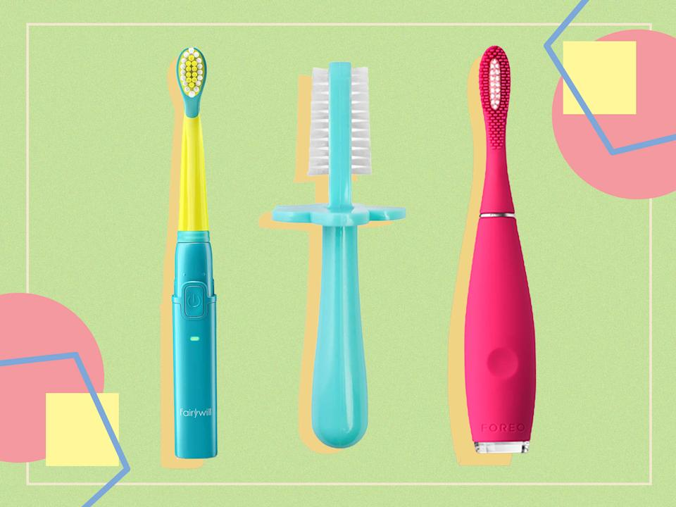 <p>The key to good oral health is to make tooth brushing fun</p> (The Independent)