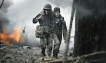 <p>Mel Gibson directed the incredible true story of conscientious objector Desmond Doss who saved the lives of 75 men during a bloody battle in the South Pacific without firing a weapon. The demand for information online about Doss's story is a reflection of the truly unbelievable nature of his feats. </p>