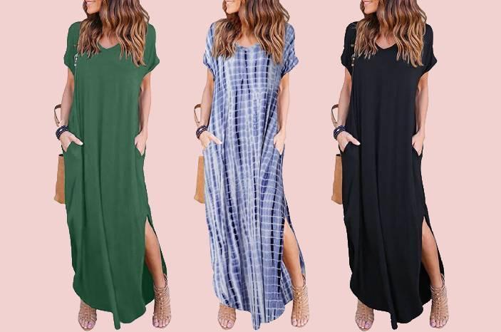 We just found the dress you're going to live in for the rest of the summer. (Photo: Amazon)