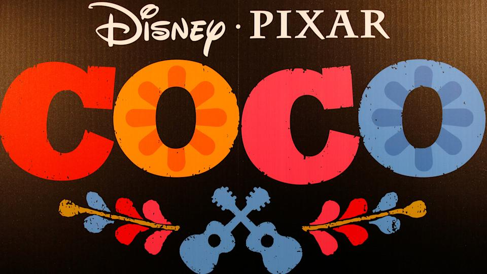 Disney Pixar Coco movie