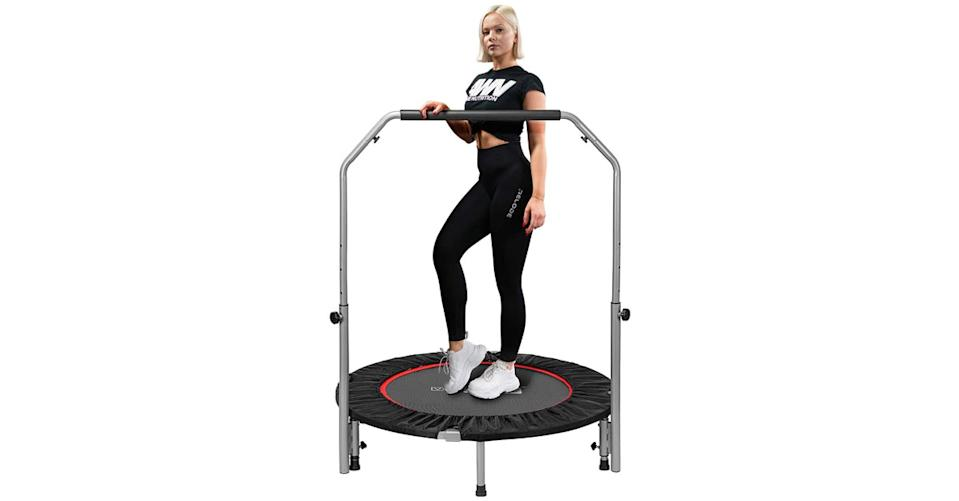 Vivohome Foldable Fitness Trampoline (Photo: Amazon)