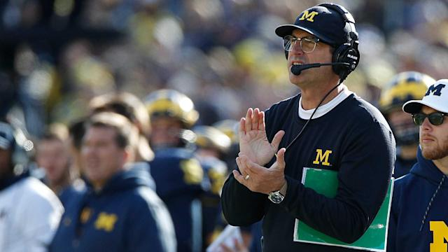 """Jim Harbaugh spoke with Sporting News about the expectations at Michigan, and to put it as only he could. """"The waters are hot."""""""
