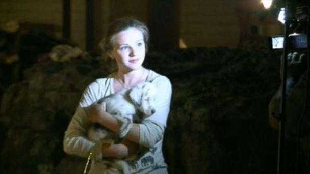 Crews Rescue Deaf Puppy from 50-Foot Hole After 30 Hours
