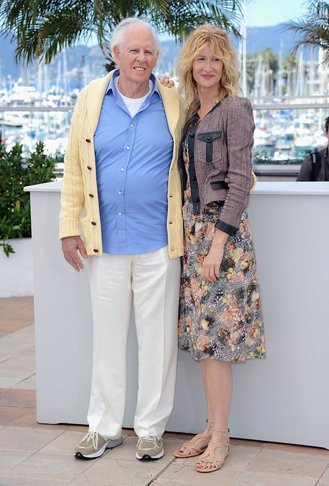 CANNES, FRANCE - MAY 23:  Bruce Dern and  Laura Dern attens the Photocall for 'Nebraska' during The 66th Annual Cannes Film Festival at the Palais des Festival on May 23, 2013 in Cannes, France.  (Photo by Stuart C. Wilson/Getty Images)