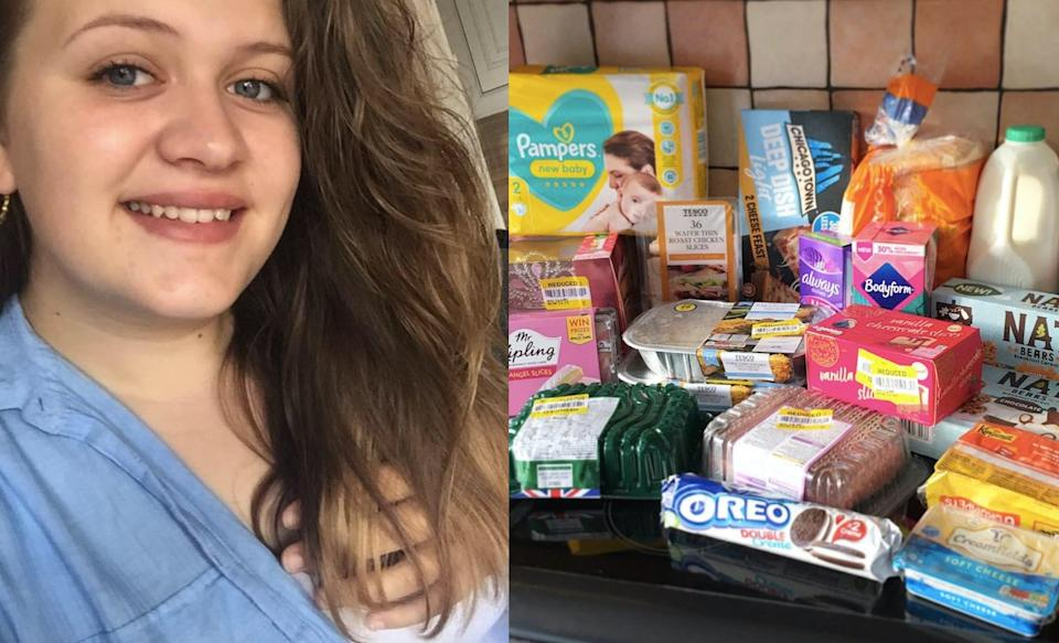 A mum has revealed how she manages to save £500 on her food shopping using clever money-saving hacks. (Caters)