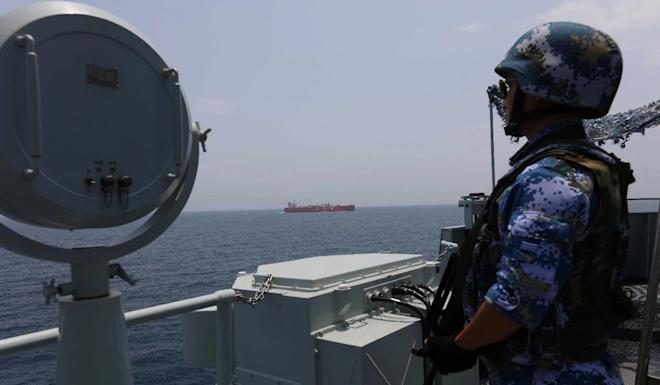 The PLA Navy has been conducting escort missions in the Gulf of Aden and waters off Somalia since December 2008. Photo: Weibo