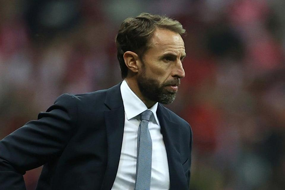 Gareth Southgate did not use any subs in England's 1-1 draw in Poland  (The FA via Getty Images)