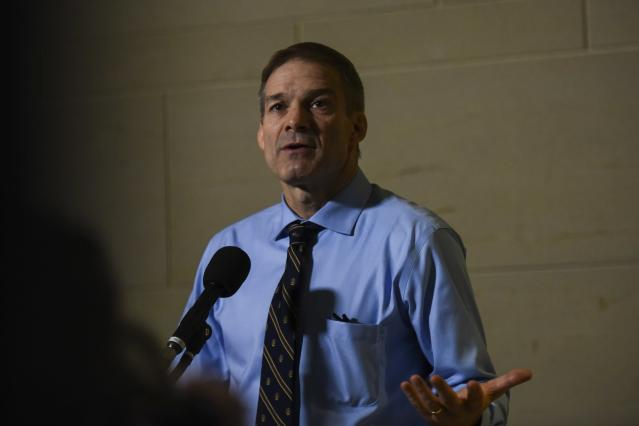 When the referee told Rep. Jim Jordan that the team doctor masturbated in front of him, Jordan allegedly brushed him off. (Jahi Chikwendiu/The Washington Post/Getty Images)