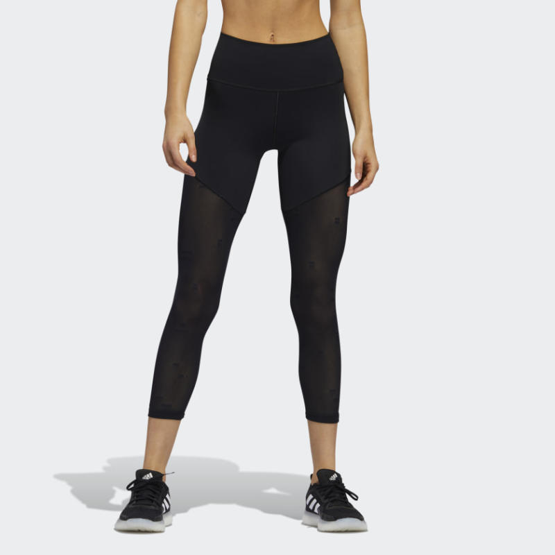 BELIEVE THIS 2.0 JACQUARD MESH 7/8 TIGHTS
