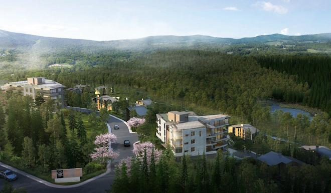 Boutique developer Apex Property's latest project in Niseko offers investors the opportunity to develop their own commercial properties. Photo: Handout