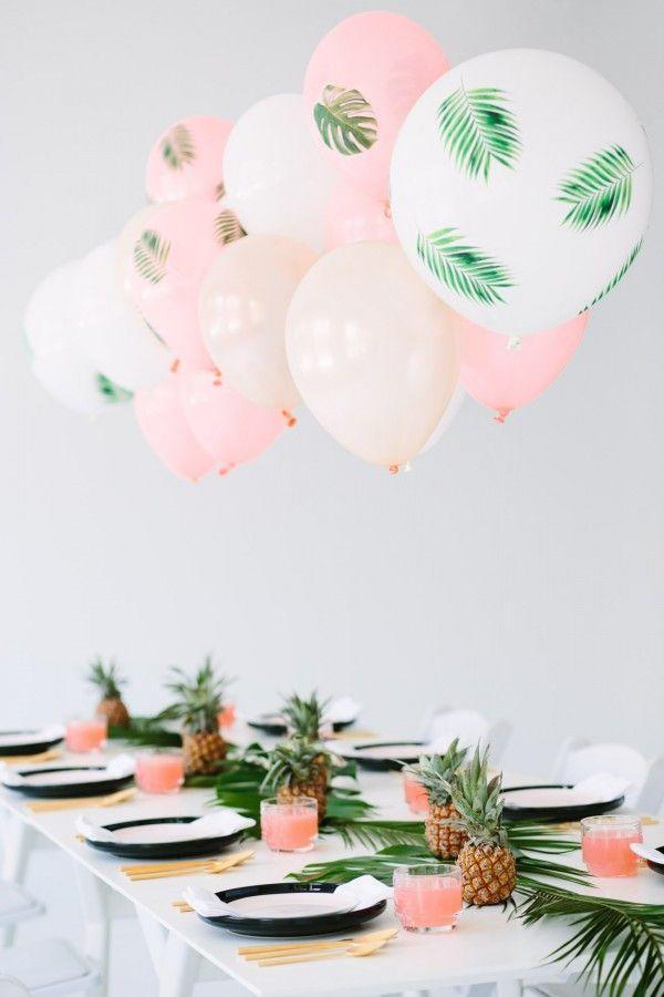 "<p>Can you say picture perfect? From the pineapple centerpieces to the palm frond-printed balloons, this birthday banquet setup is undeniably chic.</p><p><strong>See more on <a href=""https://studiodiy.com/a-palm-fronds-bon-bons-dinner-party/"" rel=""nofollow noopener"" target=""_blank"" data-ylk=""slk:Studio DIY!"" class=""link rapid-noclick-resp"">Studio DIY!</a></strong></p><p><a class=""link rapid-noclick-resp"" href=""https://go.redirectingat.com?id=74968X1596630&url=https%3A%2F%2Fwww.walmart.com%2Fip%2FSummer-Palms-Fronds-Around-Luau-Themed-11-Latex-Balloons-Green-Clear-50-CT%2F674461987&sref=https%3A%2F%2Fwww.thepioneerwoman.com%2Fhome-lifestyle%2Fentertaining%2Fg34192298%2F50th-birthday-party-ideas%2F"" rel=""nofollow noopener"" target=""_blank"" data-ylk=""slk:SHOP PALM FROND BALLOONS"">SHOP PALM FROND BALLOONS</a></p>"