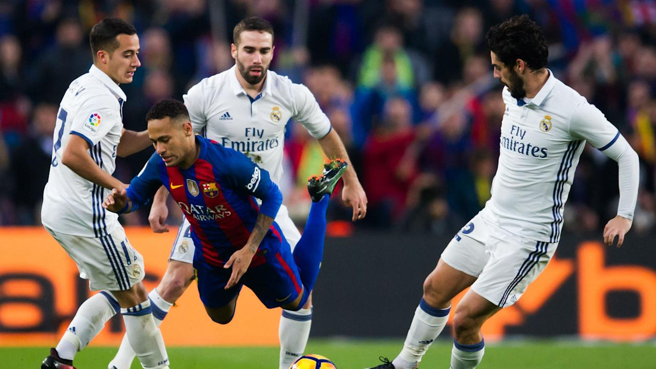 Surely not?! Casemiro says Neymar would be welcomed to Real Madrid if he is determined to depart Barcelona before the La Liga season starts.