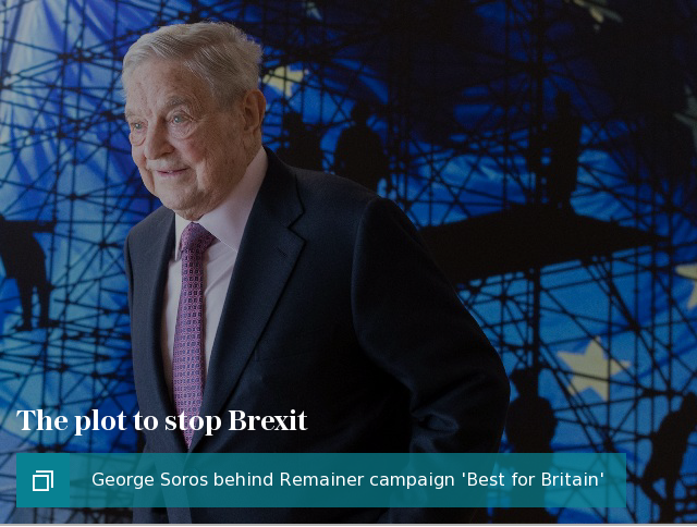 Plot to stop Brexit