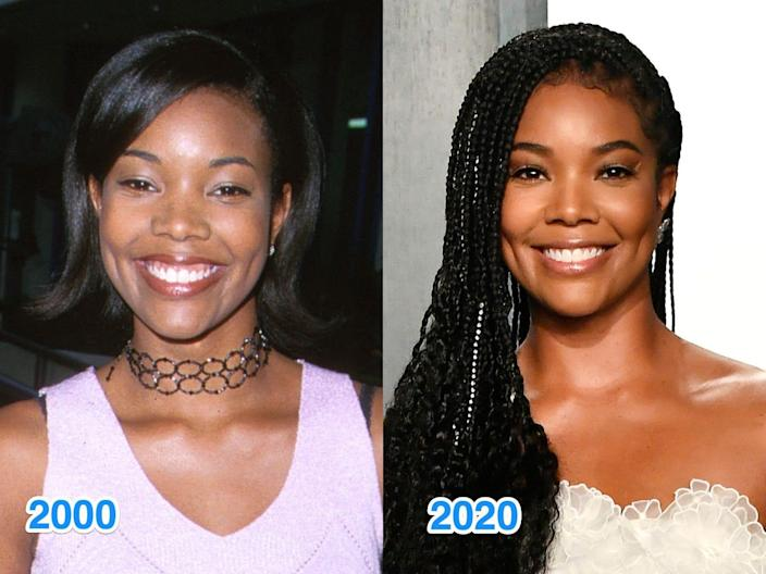 gabrielle then and now