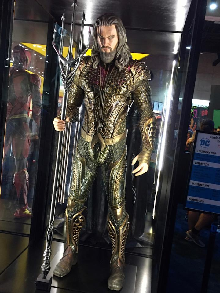 <p>The king of Atlantis is played by Jason Momoa (Photo: Marcus Errico/Yahoo Movies) </p>