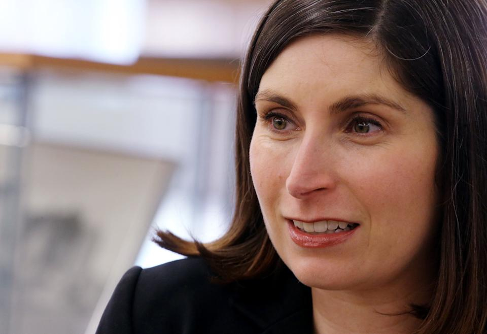 Jesse Mermell is running for Kennedy's vacant seat. Some progressives fear that the former Planned Parenthood official has been hobbled by a crowded field. (Photo: Craig F. Walker/Boston Globe/Getty Images)