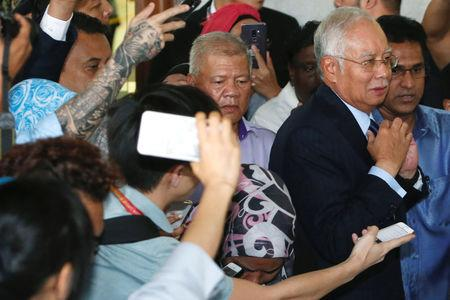 Malaysia's former Prime Minister Najib Razak leaves a court in Kuala Lumpur, Malaysia September 20, 2018. REUTERS/Lai Seng Sin