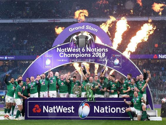 Ireland are looking to be the first to win consecutive Grand Slams since the 2000 expansion (Getty)