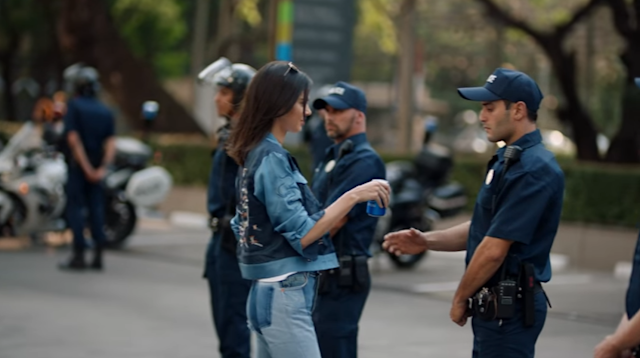 A still from the controversial ad. (Capture YouTube Pepsi)