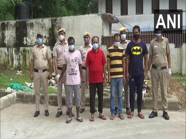 Arrested accused in case of cheating and forgery (Photo/ANI)