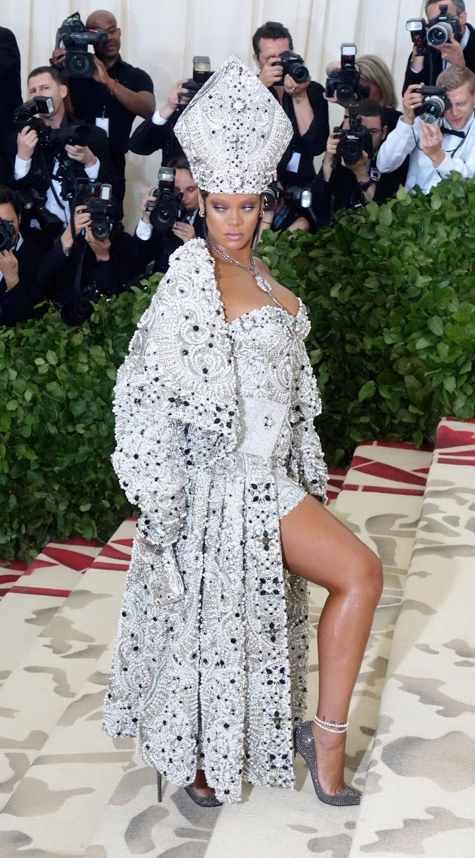 """<h1 class=""""title"""">Rihanna in John Galliano, 2018</h1><cite class=""""credit"""">Photo: Getty Images</cite>"""