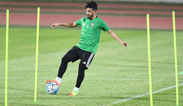 The Al Ain midfielder has been sidelined through injury.