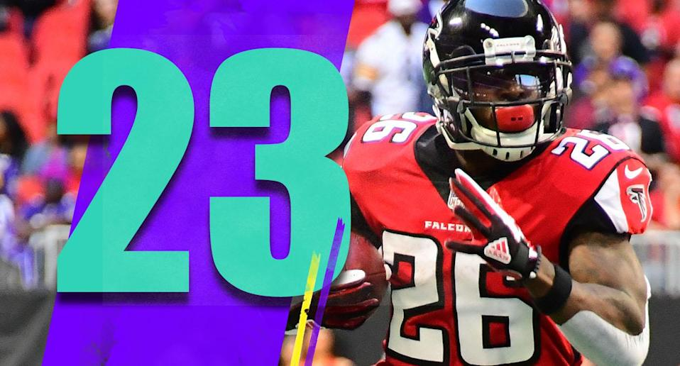 <p>Baltimore has a good defense, but how does an offense like Atlanta post 131 yards at home? That's incredibly poor. (Tevin Coleman) </p>