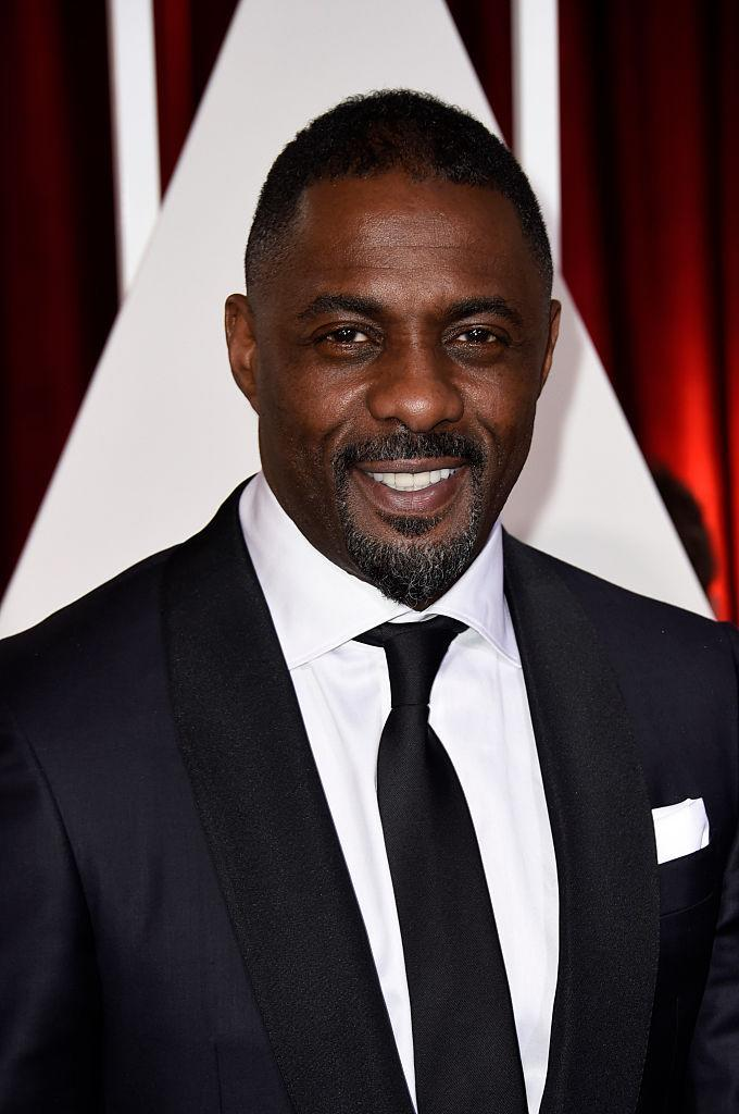 <p>Idris Elba made it to the top ten for his screen-worthy facial hair. <em>[Photo: Getty]</em> </p>