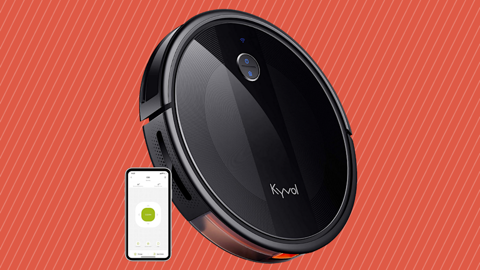 Sit back and relax. Just let the robot vacuum clean your home. (Photo: Amazon)