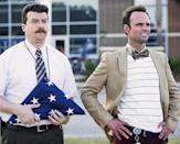"<p><b>The 30-second pitch:</b> The vice principal of discipline (<i>Eastbound & Down</i>'s Danny McBride) and the vice principal of curriculum (<i>Justified</i>'s Walton Goggins) compete to become principal of a high school. McBride's co-creator, Jody Hill, knew from the first insult-filled scene at the initial table read that the showdown would be one for the ages: ""I knew Danny could be a son of a bitch on camera, but then when I saw Walton smiling and giving it back to him, I was like, 'OK. There's two formidable opponents.'""<br><br><b>The enemy of my enemy:</b> The fun truly begins when neither McBride's Neal Gamby nor Goggins's more stylish Lee Russell lands the job, so they join forces to try to get the new principal (Kimberly Hebert Gregory) the boot. ""Lee Russell has a darker vision and won't let anything stand in his way. He encourages Gamby to go down that road,"" Hill says. ""Gamby really struggles with what he's doing in order to become principal. I think that that's why you can ultimately root for him."" <i>— Mandi Bierly</i><br><br><i>(Credit: HBO)</i> </p>"