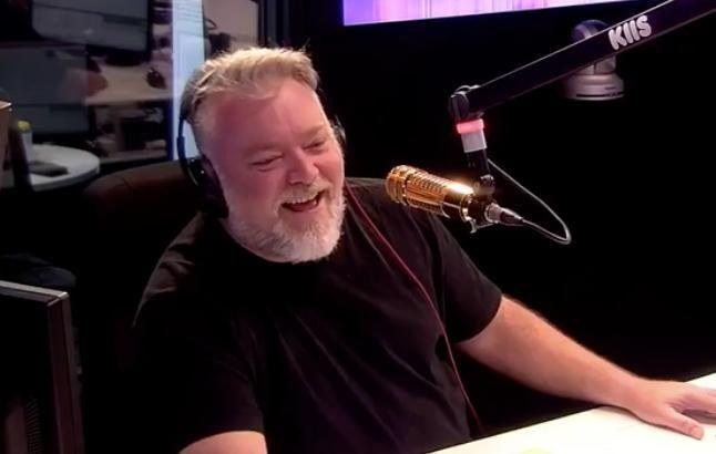 Radio shock jock Kyle Sandilands has admitted on-air that he is
