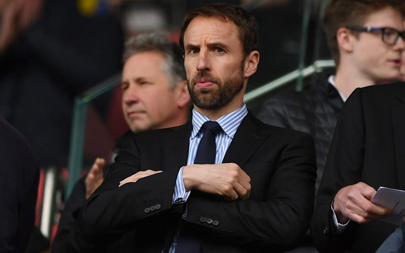 England manager Gareth Southgate says footballers can be