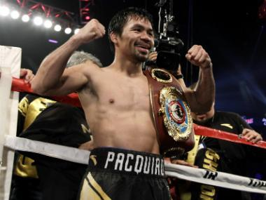 "Pacquiao, 39, called himself the ""underdog"" for the June 24 fight against Matthysse, the World Boxing Association welterweight champion from Argentina."