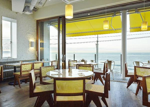Renovated in 2015, all seats have an ocean view (c) Petrina Tinslay