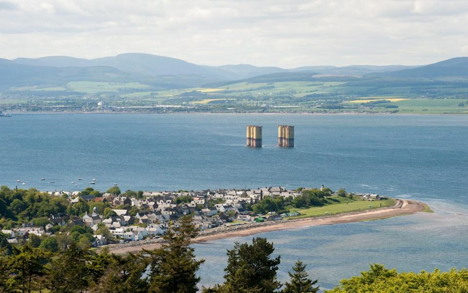 Cromarty Firth and the village of Cromarty - Getty
