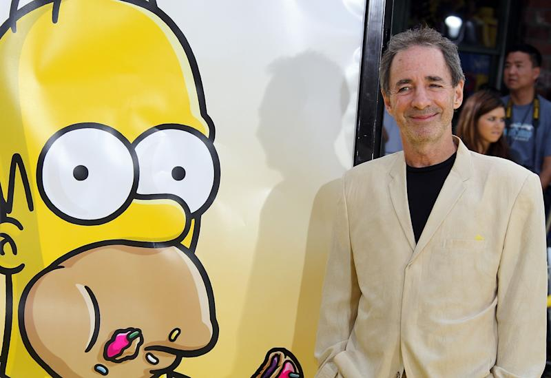 "LOS ANGELES, CA - JULY 24: Actor Harry Shearer arrives at the Los Angeles premiere of 20th Century Fox's ""The Simpsons Movie"" held at the Mann Village Theaters on July 24, 2007 in Westwood, California. (Photo by Frazer Harrison/Getty Images)"