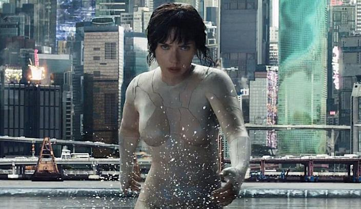 Ghost In The Shell Unveils A Nearly Nude Scarlett