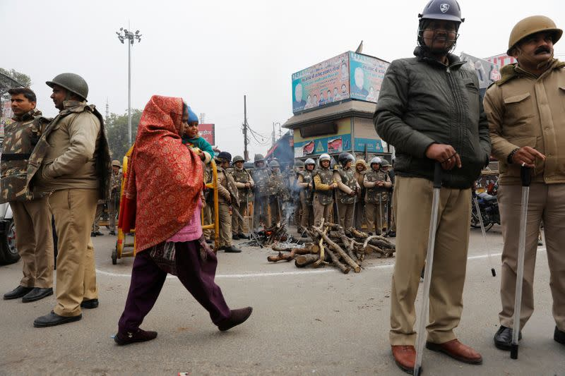 Hardline leader in Indian state defends 'strict' action to quell protests