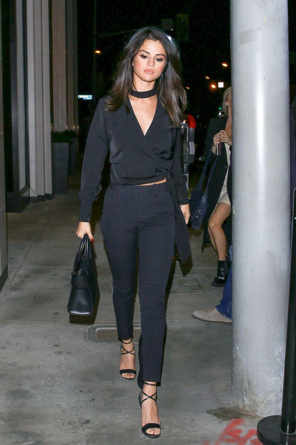 <p>Arriving at Catch LA restaurant in West Hollywood. </p>
