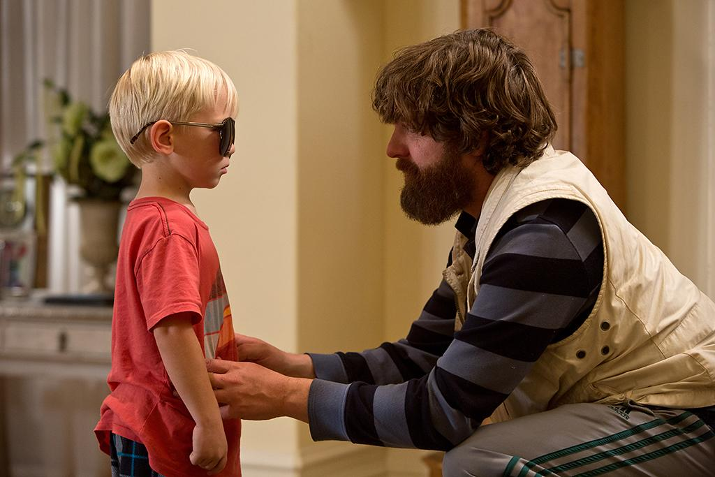 """Grant Holmquist and Zach Galifianakis in Warner Bros.' """"The Hangover Part III"""" - 2013"""