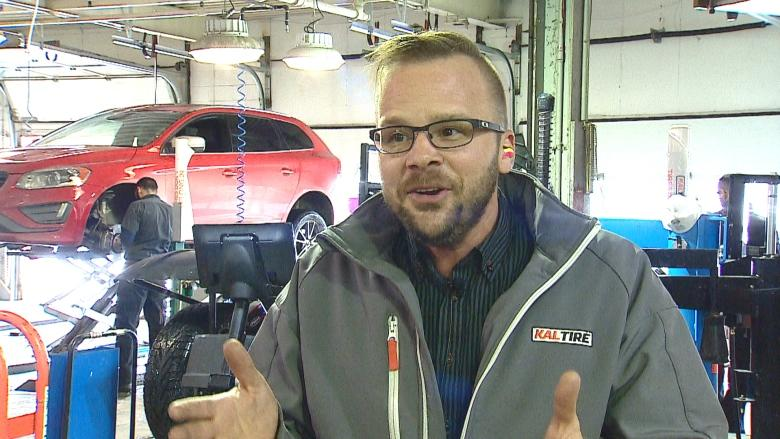Auto mechanics busy as snow ruts cause alignment challenges