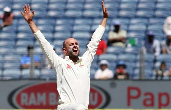 Nathan Lyon makes India struggle