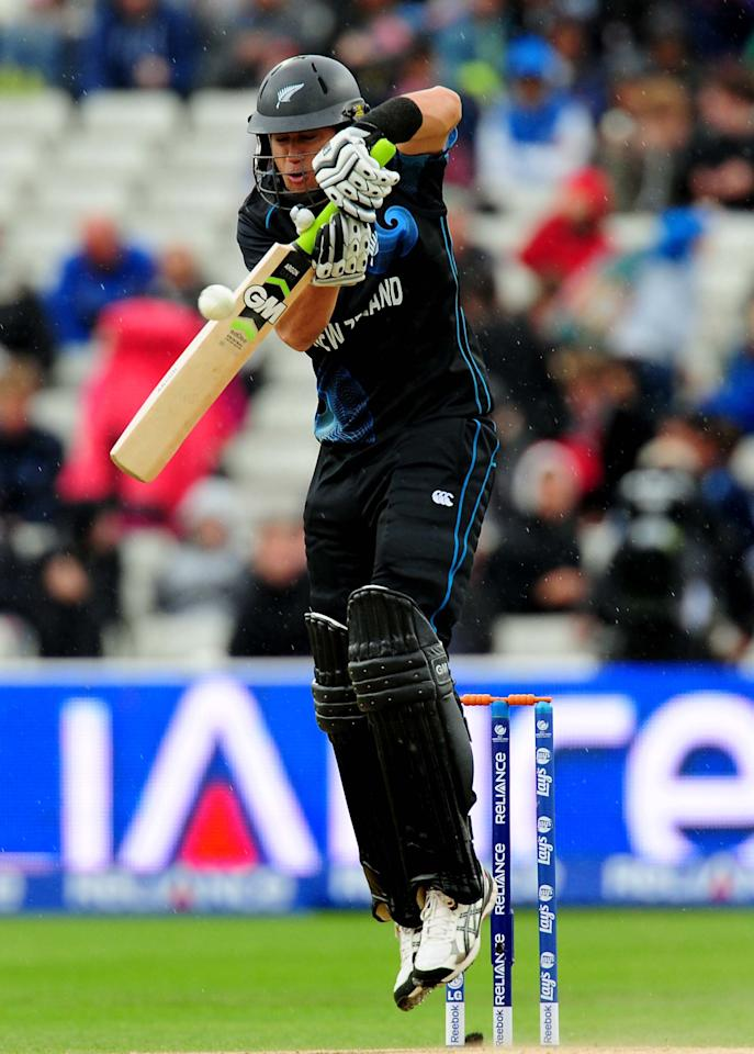 New Zealand's Ross Taylor during the ICC Champions Trophy match at Edgbaston, Birmingham.