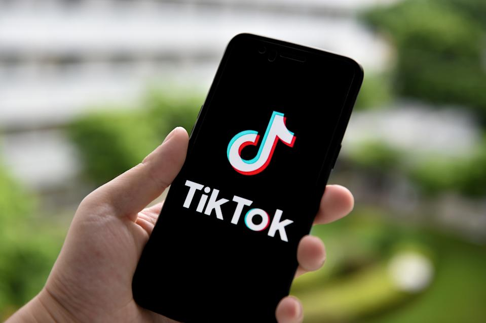CHINA - 2020/09/14: In this photo illustration a TikTok logo is seen displayed on a smartphone. (Photo Illustration by SheldonCooper/SOPA Images/LightRocket via Getty Images)