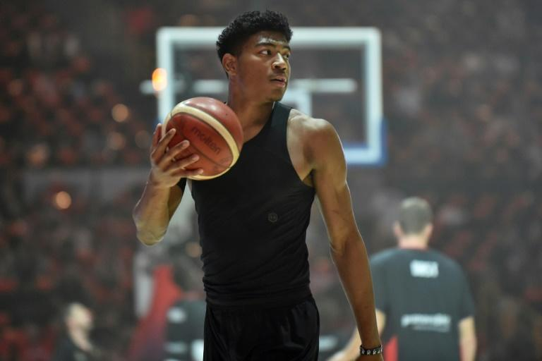 Rui Hachimura attracts huge media attention in Japan. (AFP Photo/Kazuhiro NOGI)