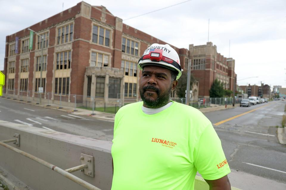 """Terrell Garner, 41,a construction contractor, blames the stress of the COVID-19 pandemic and lockdowns for a spike in violent crime. """"Now that the world is coming back open, people are getting outside and taking this pent-up frustration on whomever,"""" he said."""