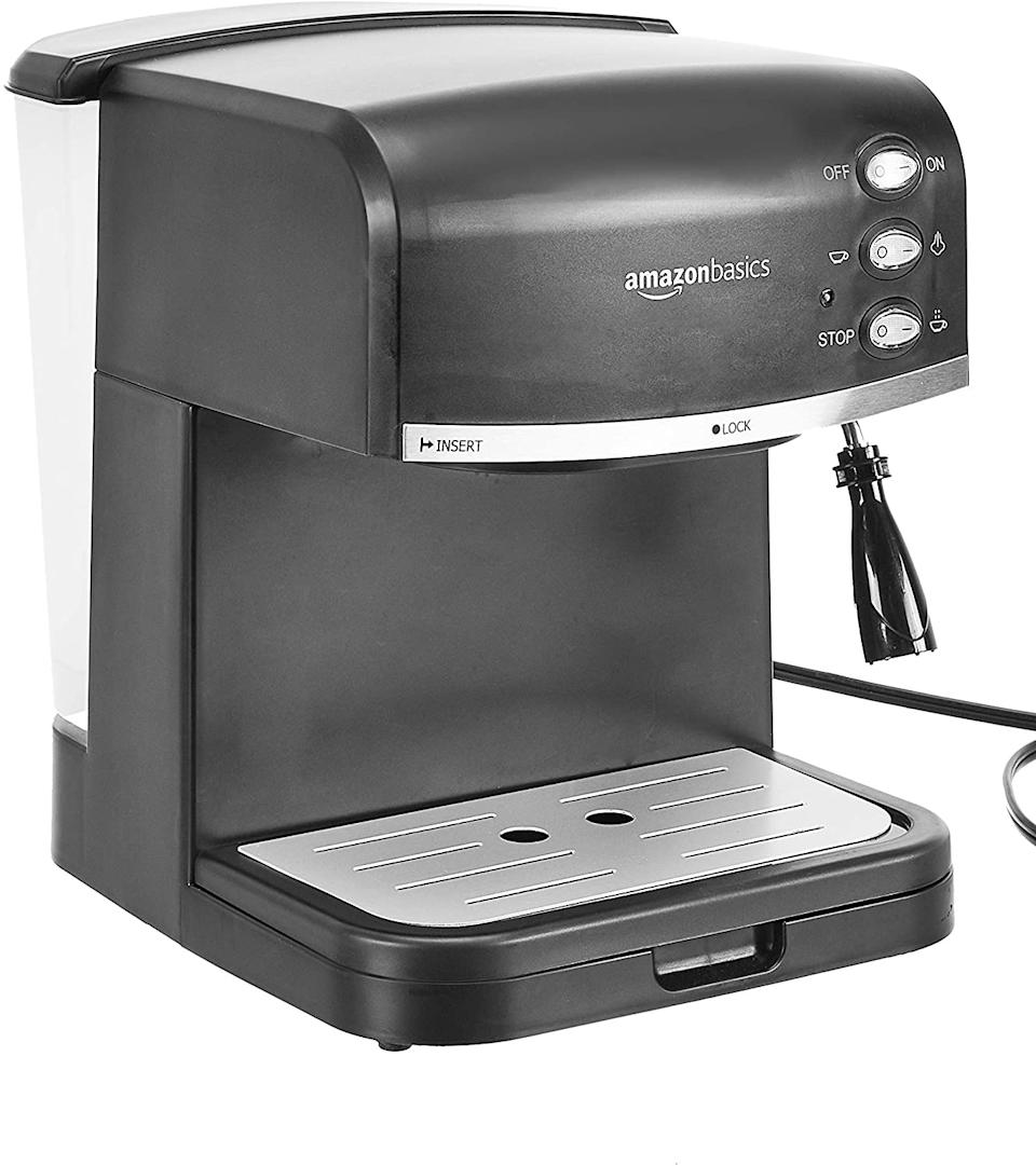 Just 62 bucks for a multitalented coffee machine, in this age of chi-chi cafes? You're making money! (Photo: Amazon)