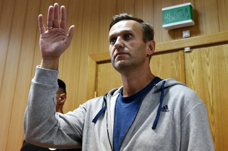 Navalny criticised the pension reform that has led to a rare outburst of public anger in Russia