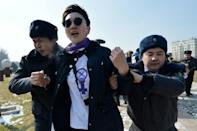 Activists in Kyrgyzstan were left shocked by the handling of last year's march to mark International Women's Day
